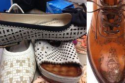 galvo lazer ile deri, ayakkabı kesim & markalama